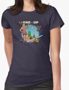 Mushroom Kingdom Womens Fitted T-Shirt