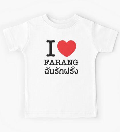 I Heart (Love) Farang Kids Tee