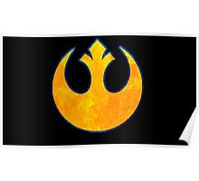 Rebel Alliance Symbol Poster