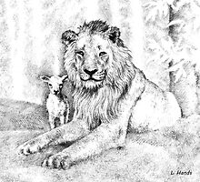 The Lion and the Lamb by HandsonHart