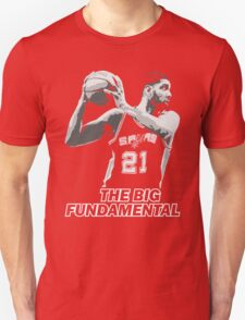 TIM DUNCAN - THE BIG FUNDAMENTAL Unisex T-Shirt