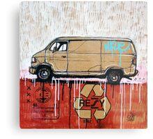 Graffiti Van Metal Print