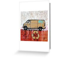 Graffiti Van Greeting Card