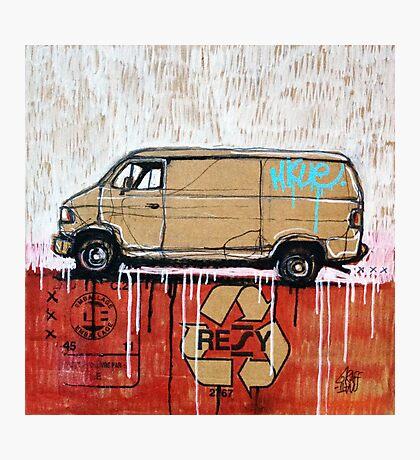 Graffiti Van Photographic Print