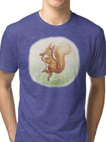 Beatrix Potter Squirrel Nutkin Tri-blend T-Shirt