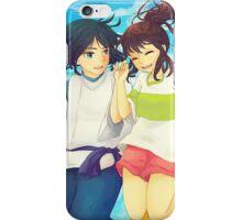 Chihiro and Haku - Spirited Away iPhone Case/Skin