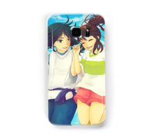 Chihiro and Haku - Spirited Away Samsung Galaxy Case/Skin