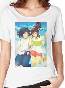 Chihiro and Haku - Spirited Away Women's Relaxed Fit T-Shirt