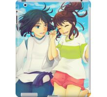 Chihiro and Haku - Spirited Away iPad Case/Skin