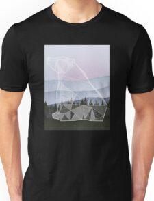 Geometric Nature - Bear (Full) Unisex T-Shirt
