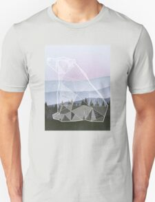Geometric Nature - Bear (Full) Unisex T-Shirt
