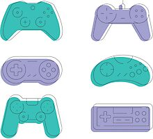 Videogame  Photographic Print