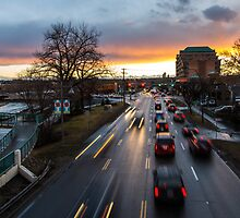 Traffic on Memorial Drive by MichaelJP