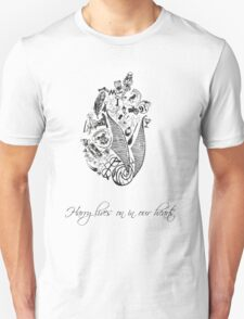 Harry Potter lives on in our hearts Unisex T-Shirt