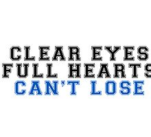 clear eyes, full hearts, can't lose (2) by shoshgoodman