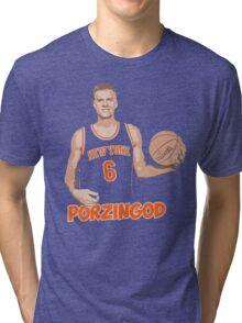 KRISTAPS PORZINGOD Tri-blend T-Shirt