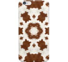 Cowfurscope Brown I iPhone Case/Skin