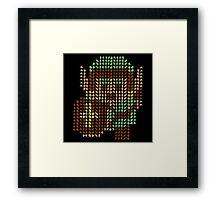 The Legend of Zelda - Link x1000 Framed Print