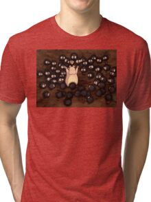 Soot Sprites - Spirited Away Tri-blend T-Shirt