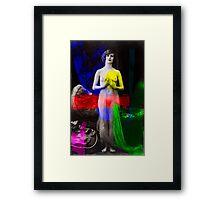 Artist Muse RGB Framed Print