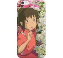 Running through the Flowers - Spirited Away iPhone Case/Skin