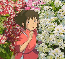 Running through the Flowers - Spirited Away by dkaufman