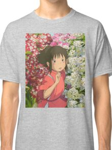 Running through the Flowers - Spirited Away Classic T-Shirt