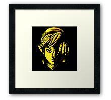 The Legend of Zelda - Triforce of Courage Framed Print