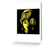 The Legend of Zelda - Triforce of Courage Greeting Card