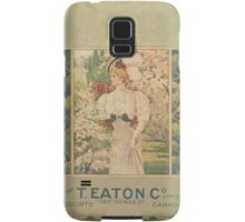 Victorian/Edwardian Illustration Galaxy Samsung Galaxy Case/Skin