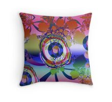The Fractal Abstract Throw Pillow