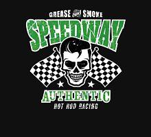 Rockabilly Speedway Skull Unisex T-Shirt