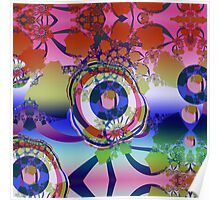 The Fractal Abstract Poster