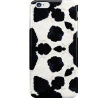 Cowfurscope Black I iPhone Case/Skin