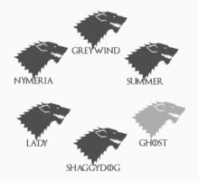 Stark Wolves by shirtaddict