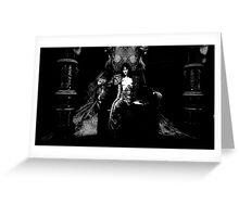 Castlevania: Dark Lords Chair Greeting Card