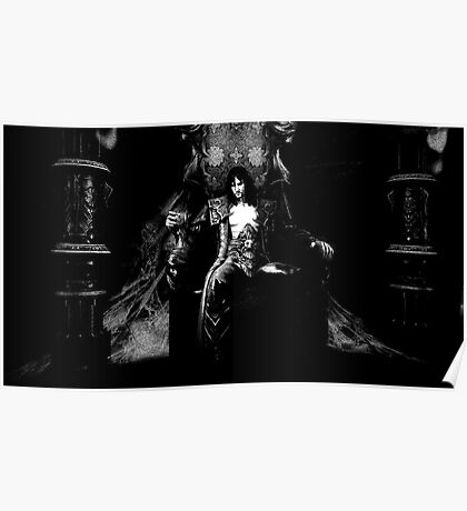 Castlevania: Dark Lords Chair Poster