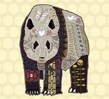 chocolate panda straw by Sharon Turner