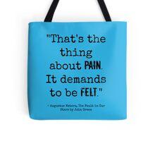 TFiOS Quote Tote Bag