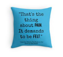 TFiOS Quote Throw Pillow