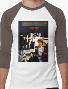 Vintage Duran Duran  Men's Baseball ¾ T-Shirt