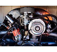 VW Engine Photographic Print