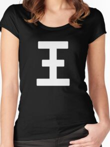 """Iwa-chan's """"King"""" Tank Top Design Women's Fitted Scoop T-Shirt"""