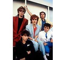 Vintage Duran Duran Band Photographic Print