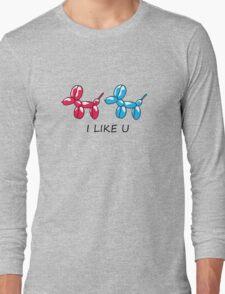 i like you  Long Sleeve T-Shirt