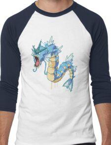 Gyarados Men's Baseball ¾ T-Shirt
