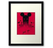 Dark Mouse Framed Print
