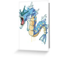 Gyarados Greeting Card