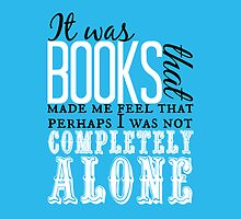 """""""It was books. . ."""" Will Quote by wessaandjessa"""