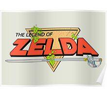 The Legend of Zelda Logo Poster